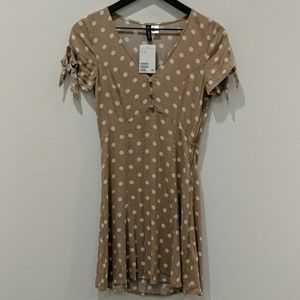 NWT H&M polkadot dress